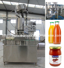 Glass Bottle Rotary Twist Off Capping Machine