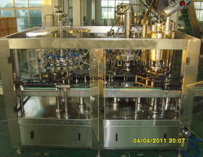 Glass Bottle Beer Rinser Filler Crown Capper(BCGF18-18-6)