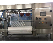 5 Gallon Water Bottle Automatic Polybag Wrapping Machine